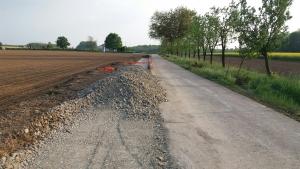 Rekonstrukcija nerazvrstane ceste u Tomašancima