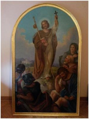 Obnovljena slika sv. Jakova apostola starijeg
